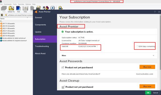 Avast Cleanup Premium Activation Code 2021 Crack (LATEST)
